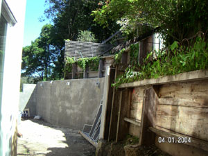 Retaining Wall in Mill Valley